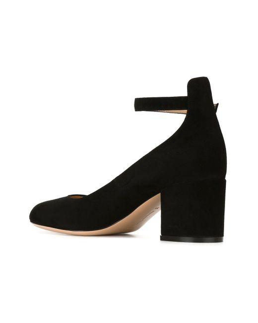 Туфли Greta Gianvito Rossi                                                                                                              чёрный цвет
