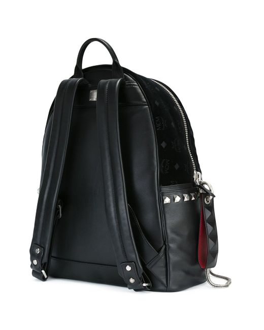 Рюкзак С Логотипом MCM                                                                                                              чёрный цвет