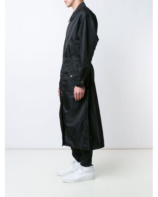 Длинный Тренч Y / PROJECT                                                                                                              чёрный цвет