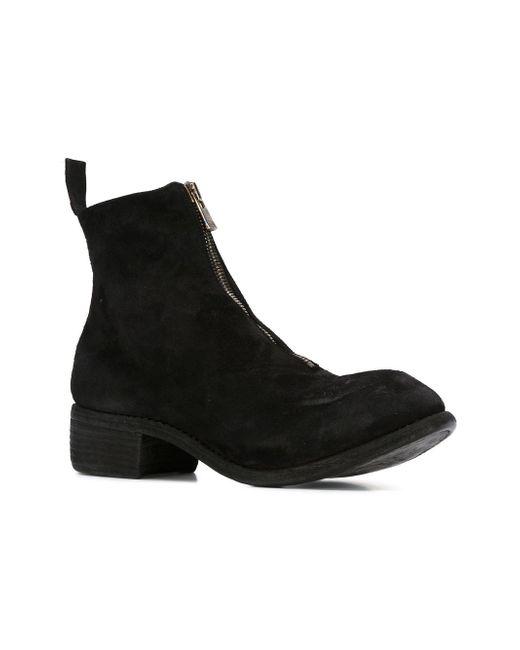 Ботинки По Щиколотку GUIDI                                                                                                              чёрный цвет