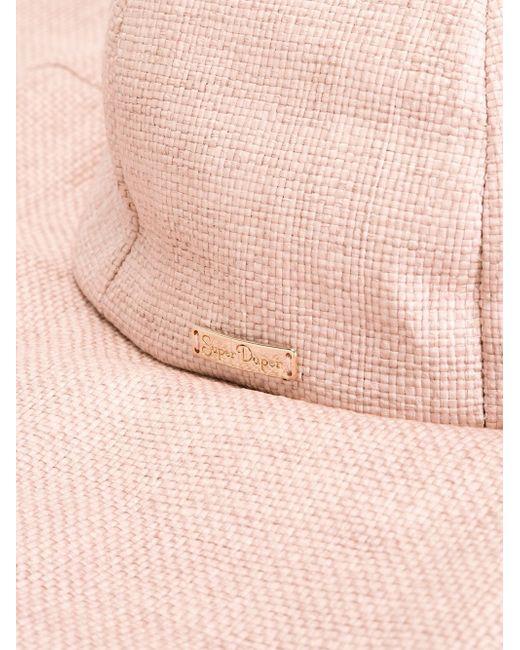 Ультра-Широкополая Шляпа SUPER DUPER HATS                                                                                                              розовый цвет