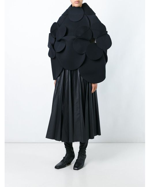 Объемная Блузка С Длинными Рукавами JUNYA WATANABE COMME DES GARCONS                                                                                                              чёрный цвет