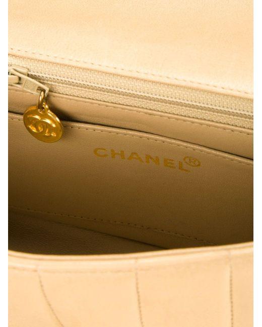 Сумка На Плечо Mademoiselle Chanel Vintage                                                                                                              Nude & Neutrals цвет
