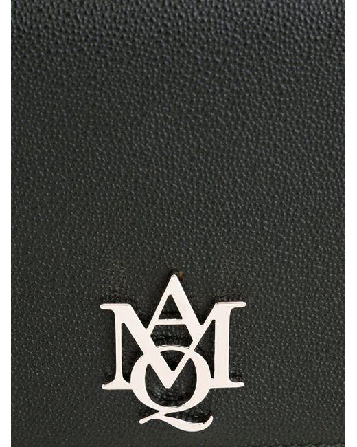 Сумка На Плечо С Бляшкой С Логотипом Alexander McQueen                                                                                                              чёрный цвет