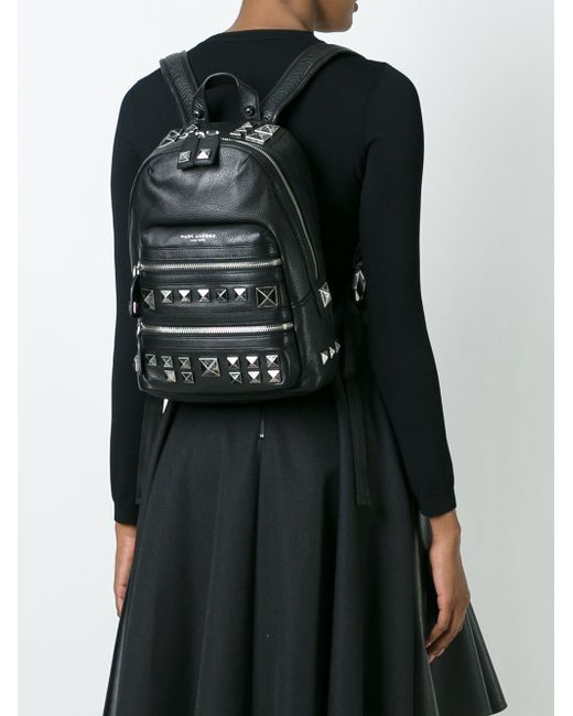 Рюкзак Recruit Chipped Studs Marc Jacobs                                                                                                              чёрный цвет