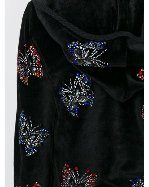 Декорированная Толстовка Philipp Plein                                                                                                              чёрный цвет