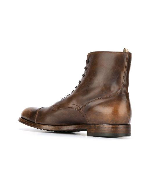 Ботинки Tempus Officine Creative                                                                                                              коричневый цвет