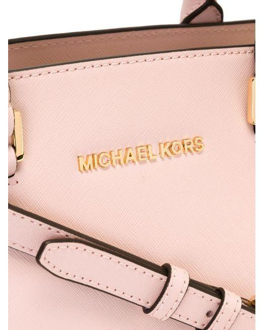 Сумка-Тоут Selma Michael Michael Kors                                                                                                              розовый цвет