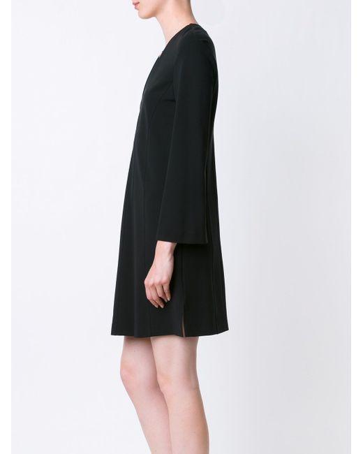 Платье С V-Образным Вырезом Derek Lam                                                                                                              чёрный цвет