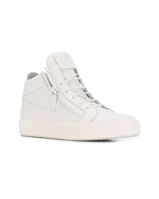 Кеды Kriss Giuseppe Zanotti Design                                                                                                              белый цвет