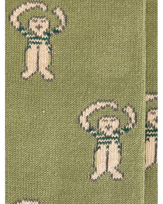 Носки The Hug SOCIETE ANONYME                                                                                                              зелёный цвет