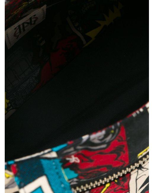 Сумка-Тоут С Принтом Комиксов JEAN PAUL GAULTIER VINTAGE                                                                                                              многоцветный цвет