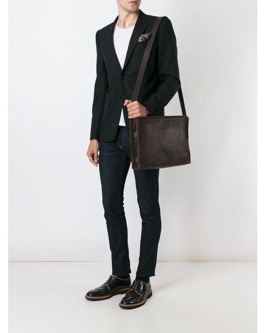 Сумка-Почтальонка TROUBADOUR                                                                                                              коричневый цвет