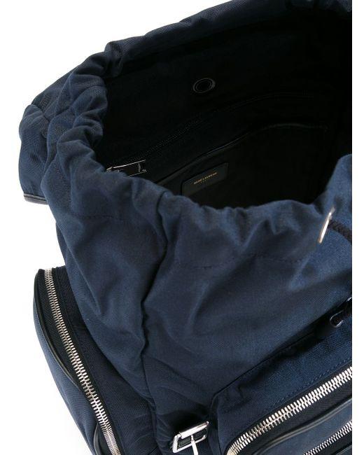 Рюкзак Délavé Saint Laurent                                                                                                              синий цвет