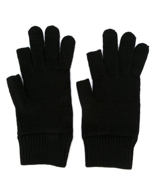 Вязаные Перчатки Rick Owens                                                                                                              чёрный цвет