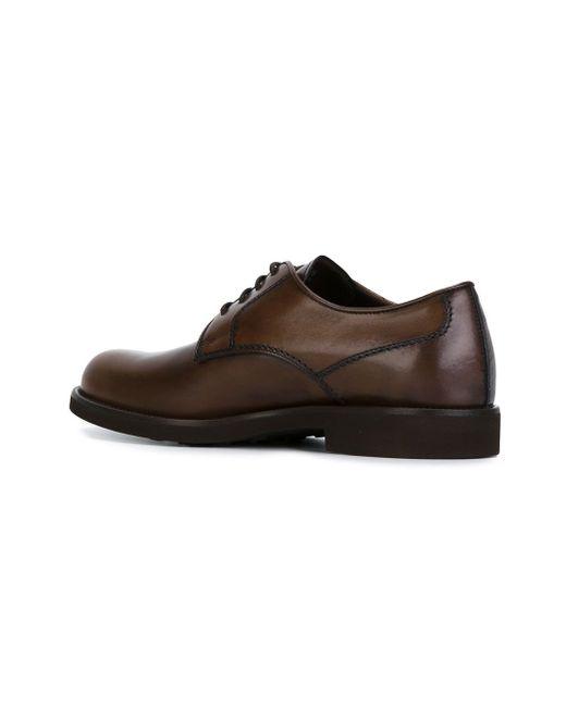 Классические Ботинки Дерби Tod'S                                                                                                              коричневый цвет