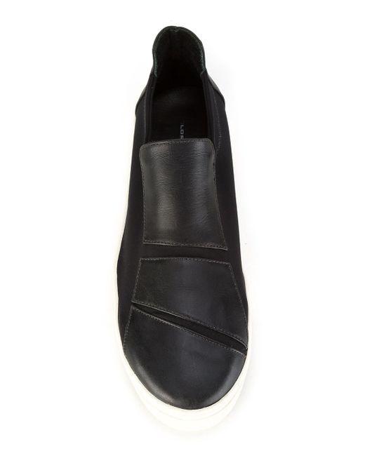 Leather Sneakers GLORIA COELHO                                                                                                              чёрный цвет