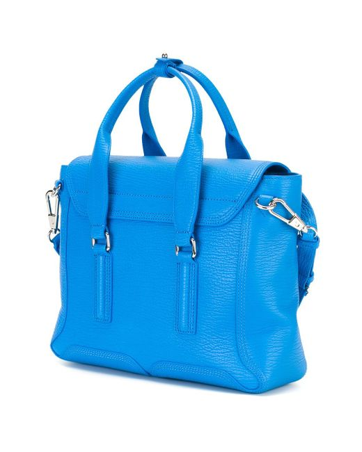 Сумка-Сэтчел Pashli 3.1 Phillip Lim                                                                                                              синий цвет