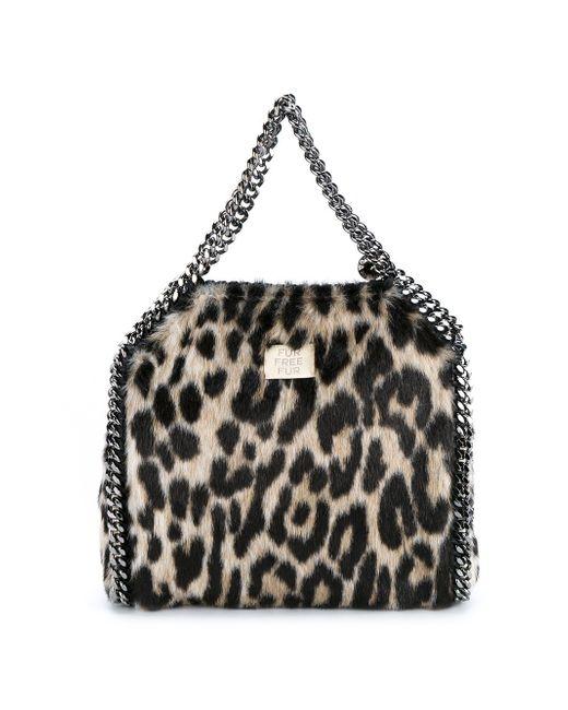 Falabella Shoulder Bag Stella Mccartney                                                                                                              чёрный цвет