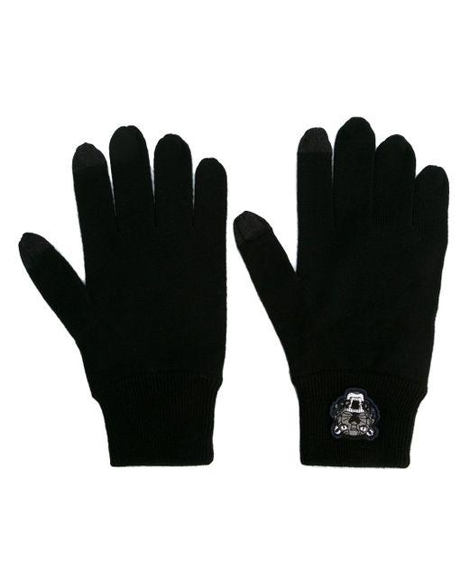 Перчатки Mini Tiger Kenzo                                                                                                              чёрный цвет