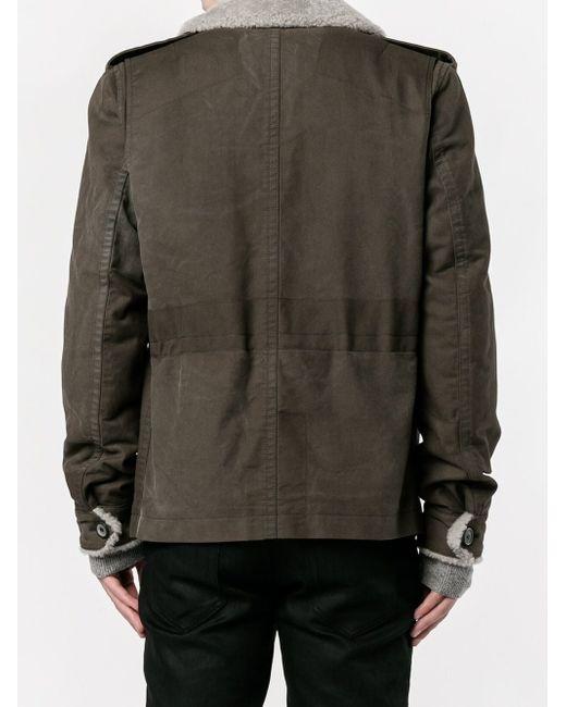 Летная Куртка Lanvin                                                                                                              коричневый цвет