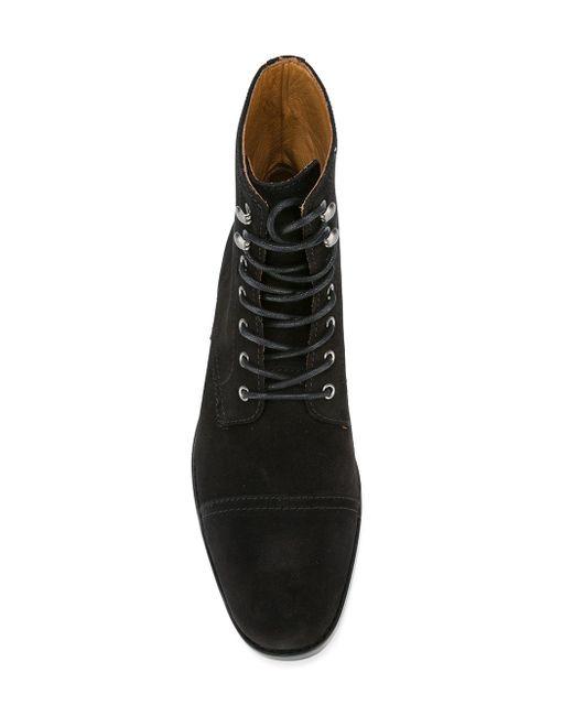 Ботинки На Шнуровке Polo Ralph Lauren                                                                                                              чёрный цвет