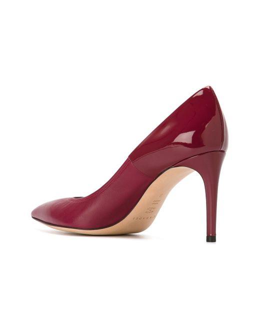 Туфли С Заостренным Носком Casadei                                                                                                              розовый цвет