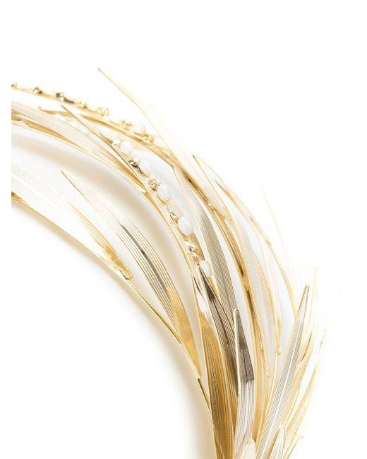Ободок С Жемчужным Украшением Rosantica                                                                                                              серебристый цвет