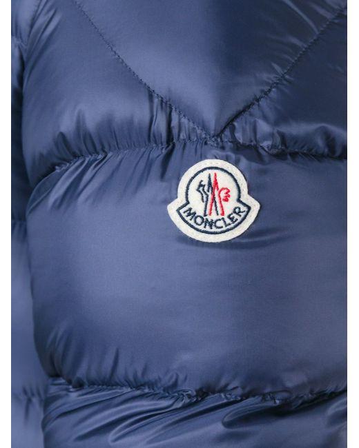Пуховик Jeanbart Moncler                                                                                                              синий цвет