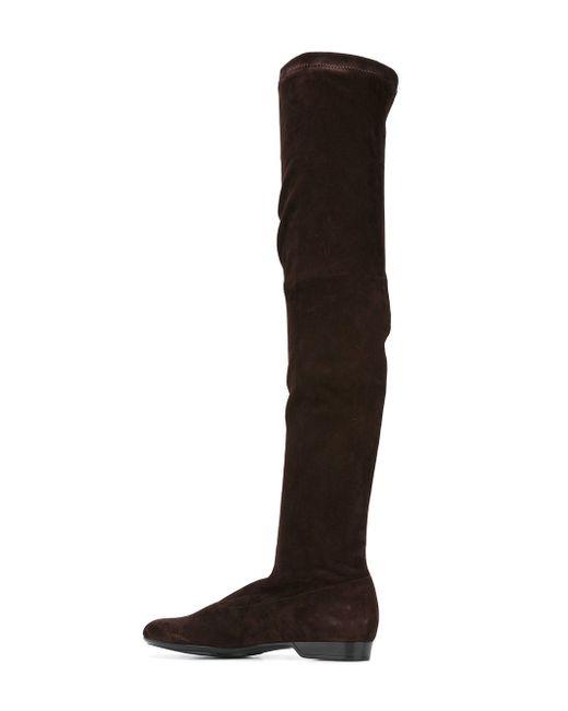 Ботфорты Fetel Robert Clergerie                                                                                                              коричневый цвет