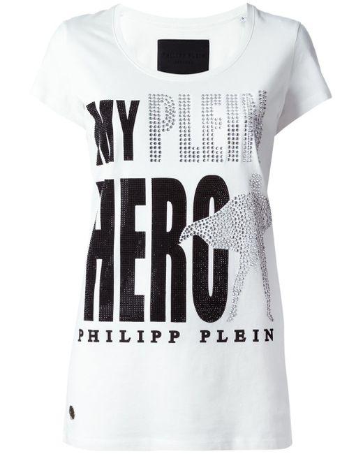 Футболка Month Philipp Plein                                                                                                              белый цвет
