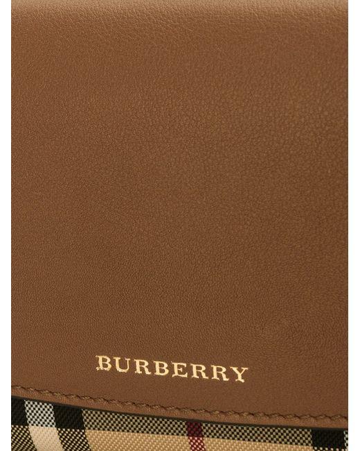 Маленькая Сумка Через Плечо Burberry                                                                                                              коричневый цвет