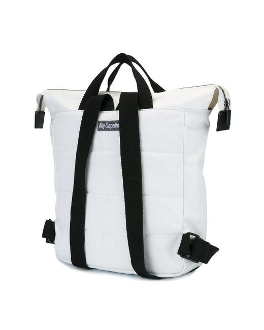 Рюкзак Frances Ally Capellino                                                                                                              белый цвет