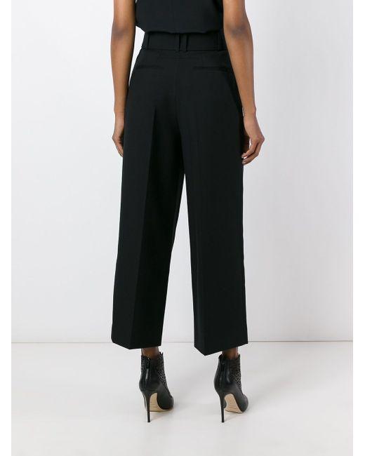 Укороченные Брюки Givenchy                                                                                                              чёрный цвет