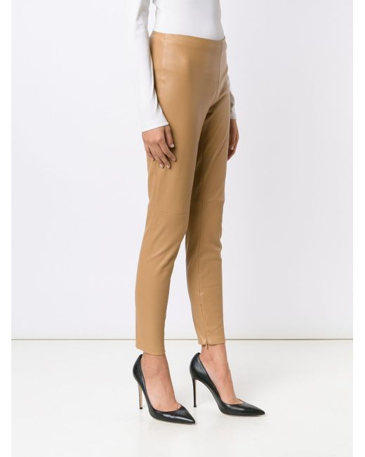 Eleanora Skinny Stretch Trousers Ralph Lauren                                                                                                              Nude & Neutrals цвет
