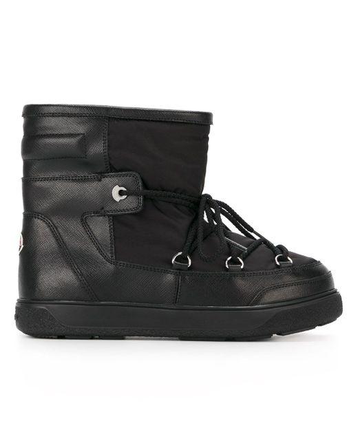 Зимние Ботинки Fanny Moncler                                                                                                              чёрный цвет