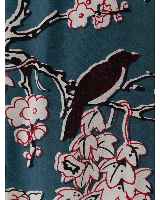 Платье Enchanted Tree Valentino                                                                                                              многоцветный цвет
