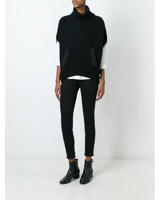 Вязаный Джемпер Moncler                                                                                                              чёрный цвет
