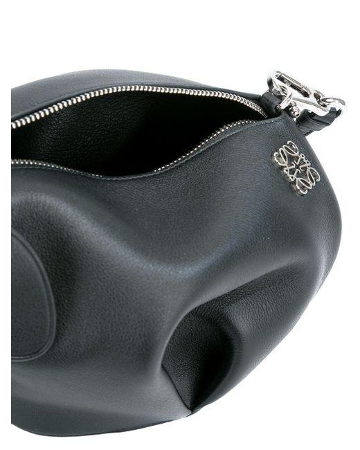 Сумка Через Плечо Punk Elephant Мини Loewe                                                                                                              чёрный цвет