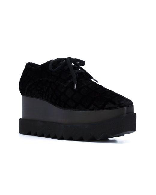 Туфли Elyse Stella Mccartney                                                                                                              чёрный цвет