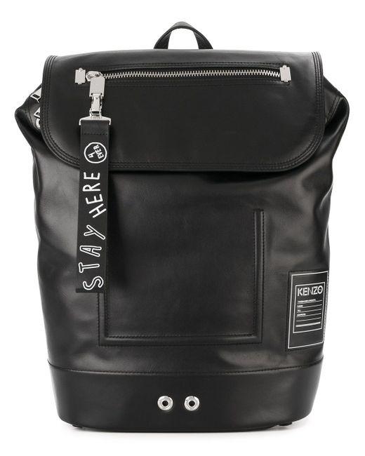 Классический Рюкзак Kenzo                                                                                                              чёрный цвет