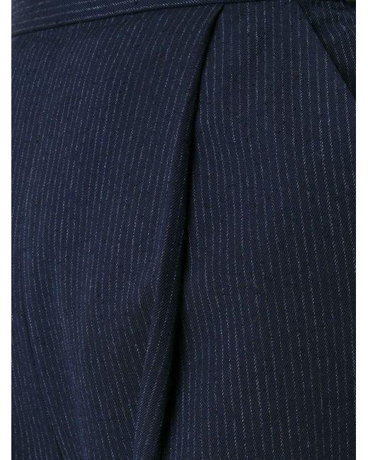 Брюки Со Складками ENFÖLD                                                                                                              синий цвет