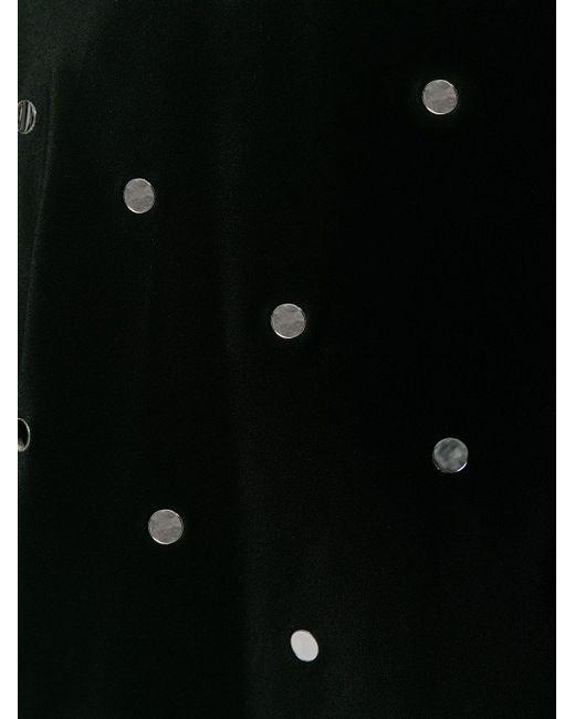 Юбка Декорированная Пайетками No21                                                                                                              чёрный цвет