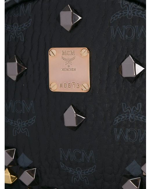 Рюкзак С Заклепками MCM                                                                                                              чёрный цвет