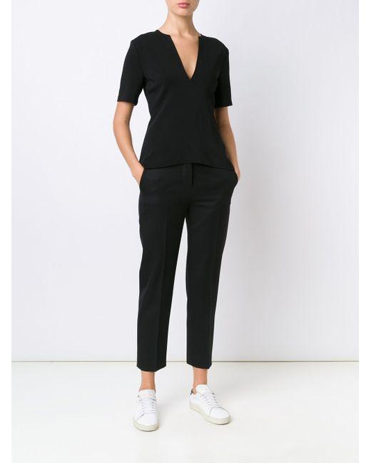 Блузка C V-Образным Вырезом A.L.C.                                                                                                              чёрный цвет