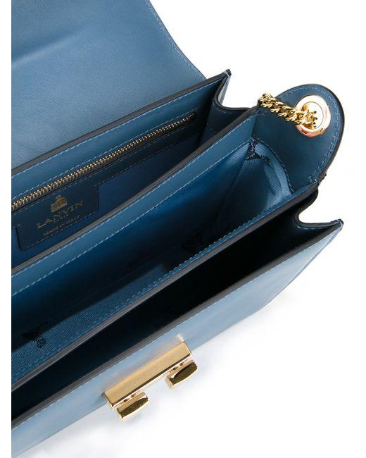 Small Jiji Shoulder Bag Lanvin                                                                                                              синий цвет