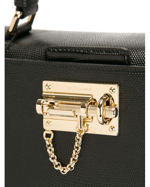 Большая Сумка-Тоут Monica Dolce & Gabbana                                                                                                              чёрный цвет