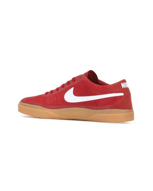 Кеды Sb Ruin Hyperfeel Nike                                                                                                              красный цвет