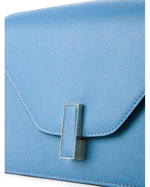 Сумка На Плечо С Откидным Клапаном Valextra                                                                                                              синий цвет