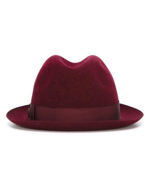 Фетровая-Шляпа Borsalino                                                                                                              розовый цвет